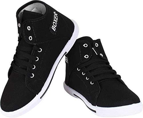 Buy Tryviz Women \u0026 Girls' Black Sneaker