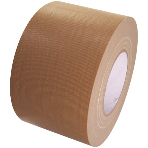 Duct Tape 4 in x 60 yd rolls, Craft Grade, 18 colors, Tan