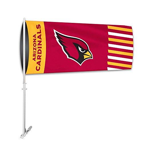 Fremont Die NFL Arizona Cardinals Car Sock Flag, 9