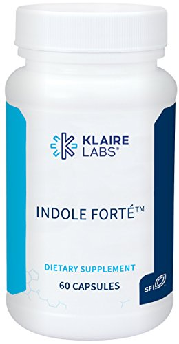 ProThera (Klaire Labs) Indole Forte – DIM (Diindolylmethane) & Indole-3-Carbinol Detox Support, 60 Capsules Review