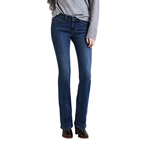 Calça Jeans Levis Feminino 715 Bootcut Escura