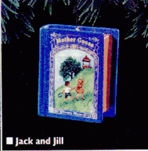 Jack and Jill Mother Goose 3rd in Series 1995 Hallmark Ornament QX5099