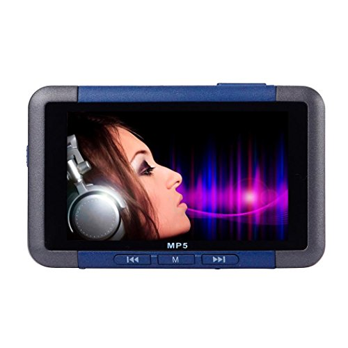 Lary intel 8GB Slim MP3 MP4 MP5 Music Player With 4.3'' LCD Screen FM Radio Video Movie (Blu Ray Vcr Combo Player)