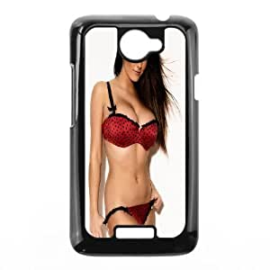 HTC One X Cell Phone Case Black Lucy Pinder OJ499527