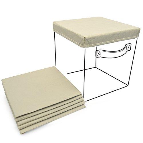 Sorbus Foldable Storage Basket Covers