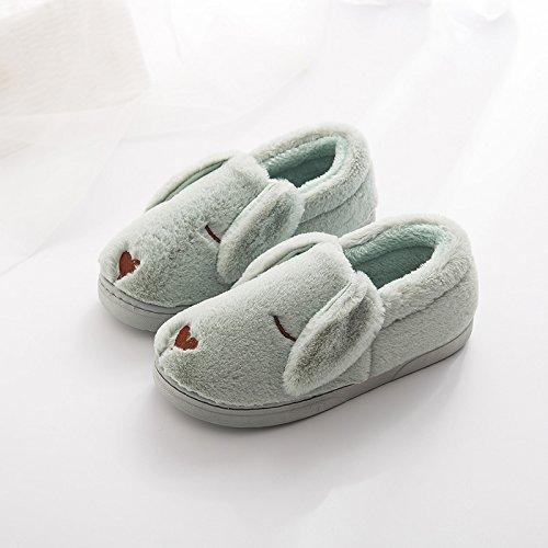 usura 40 38 pantofole home antiscivolo tacchi metri 39 indoor verde fankou chiaro per cute maschio 41 Coppie femmina adatto cotone inverno pacchetto calda qSnRtTOAw