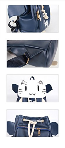 Rain's PanAnime Ao No Kanata No Four Rhythm Cat Cosplay Backpack Shoulder Bag