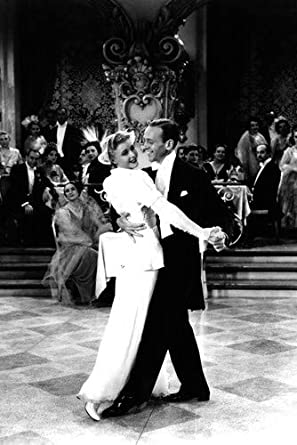 Ginger Rogers Fred Astaire Iconic Fred Ginger Dancing 16x20 Poster At Amazon S Entertainment Collectibles Store