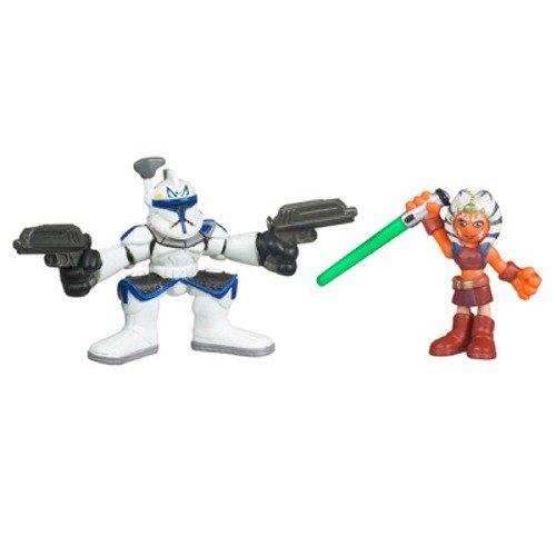 Ahsoka Tano and Captain Rex Star Wars Clone Wars Galactic Heroes Hasbro 87935 D900515C