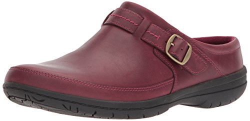 Merrell Women's Encore Kassie Buckle Slide Clog, Beet red, 9 Medium US