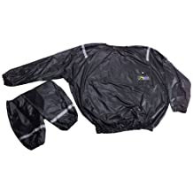 GoFit Vinyl Sweat Suit for Thermal Training, Sauna Suit for Workouts, Fitness, Weight loss
