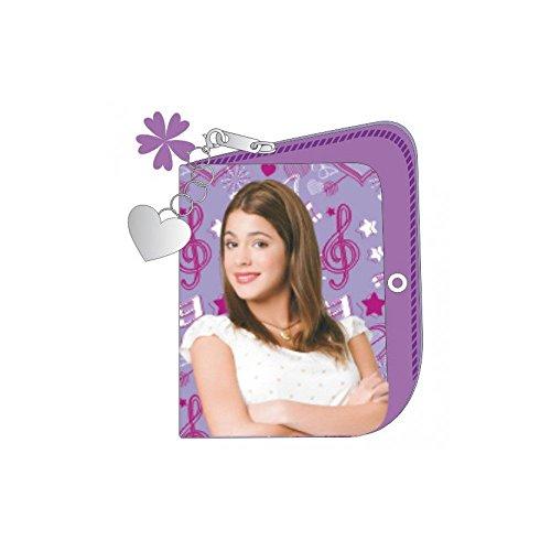 Disney Violetta portafoglio in similpelle