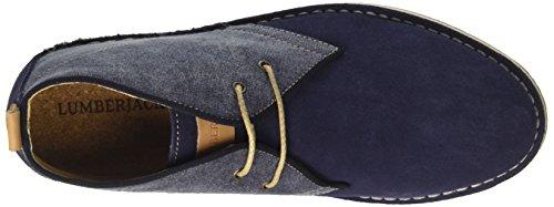 Bologna Blu Stringate Derby Blue Uomo Basse Lumberjack Scarpe Navy fxwYZWqd