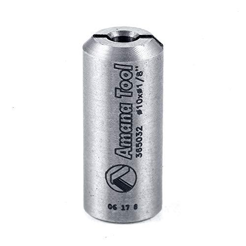 Amana Bushings - Amana Tool - 365032 Reducing Bushing 10mm Shank For 3.2mm Drill