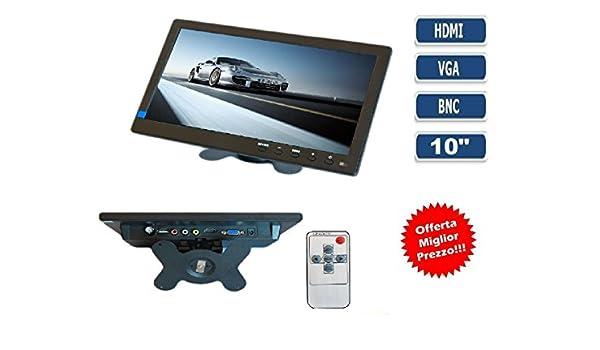TV Televisor Monitor 10,1 pulgadas colores LCD VGA HDMI BNC ...