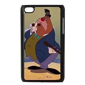 iPod Touch 4 Phone Case Black Alice in Wonderland The Carpenter AU7277959