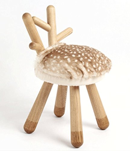 (Bambi Wooden Chair with Ears)