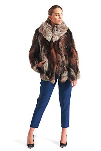 Crystal Fox Fur Jacket - Crystal Fox Fur Coat Fur jacket Women's