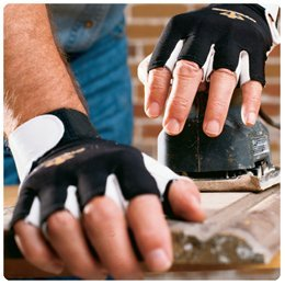 IMPACTO BG401 Anti-Vibration Air Glove Large Impacto Bubble Glove - Model 55978704