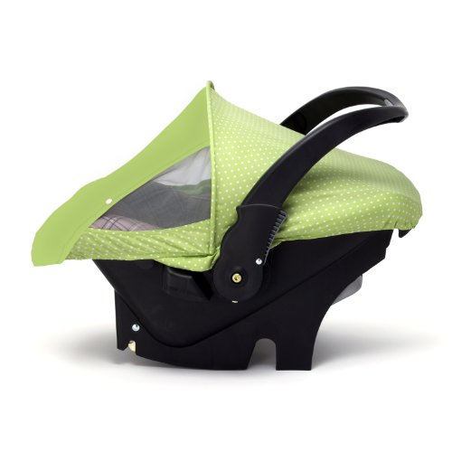 Cozy Car Seat Sun and Bug Cover (GREEN) by Cozy Baby
