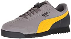 PUMA serves up a laid-back retro classic with this sleek sneaker. The roma is the stuff of PUMA archive legend with its sport-turned-street style. The original, which debuted in 1968, was geared for sprints, hurdles, and sweatbands with its p...