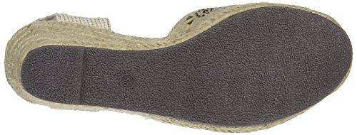 para Zapatos Plataforma con Gold Dorado 48049 XTI Mujer wpqITT