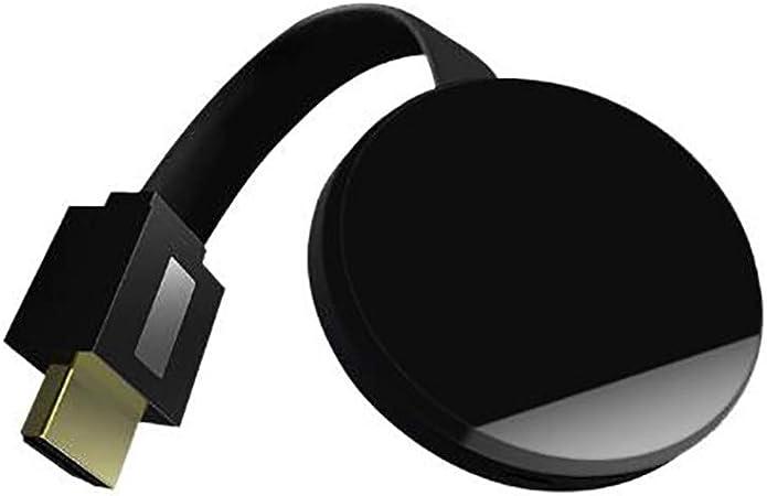Adaptador De Pantalla Inalámbrico, 1080P HDMI Miracast WiFi, Compatible con Android Netflix Hulu Plus Airplay DLNA TV Stick Transmisor De Video Receptor Multimedia Compartido: Amazon.es: Hogar