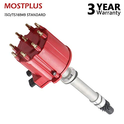 (MOSTPLUS NEW Ignition Distributor for 87-95 Chevrolet Pontiac GMC 5.0L 5.7L 7.4L 1103952 DST1830)
