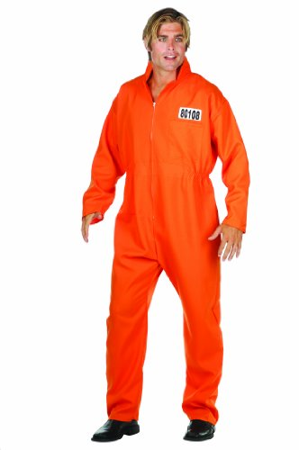 (RG Costumes Men's Escaped Convict, Orange, One)