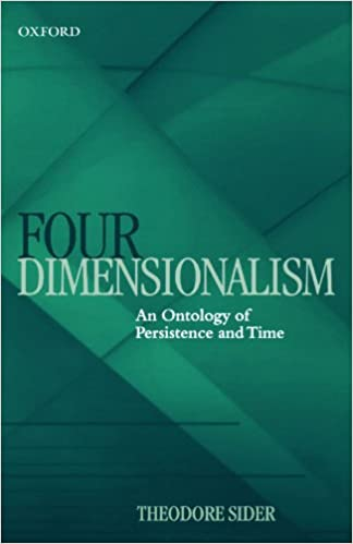 four dimensionalism an ontology of persistence and time mind association occasional series
