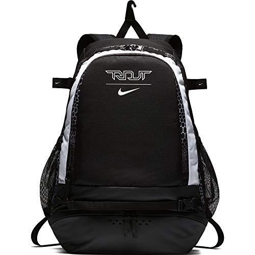 Nike Men's Trout Vapor Baseball Backpack Black/White Size One Size