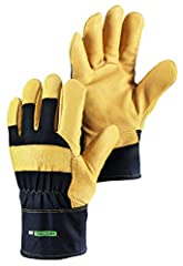 This is a heavy duty pigskin utility glove made to survive the elements. The gloves are insulated and the pigskin palm gives them great durability but better tactility then thicker leathers.