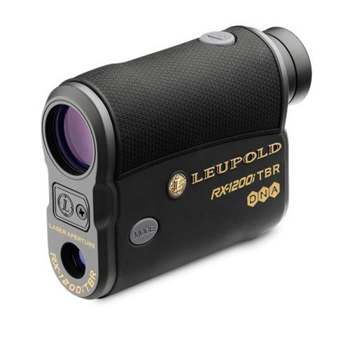 Leupold RX-1200i TBR/W with DNA Digital Laser Rangefinder - Black/Gray