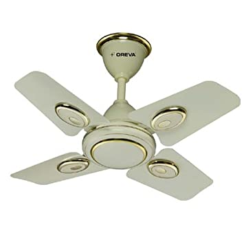 ceiling fan 4 blades. oreva 600 mm ceiling small size fan of 4 blades,palash ocf-7147 blades h