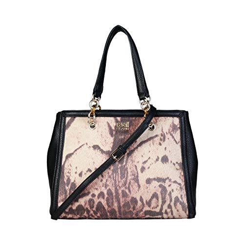 Women Shoulder Cavalli Shoulder Class Designer Black Genuine Bag Bag O4q5w