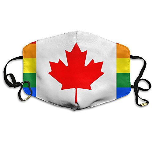 Adult Fashion Mouth Mask Canadian Gay Women Safety Masks 100%Polyester Comfortable Reusable Safety Masks For Dust -