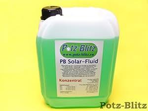 Potz-Blitz PB - Líquido solar concentrado, -58ºC, color verde