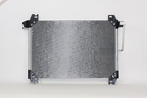 A-C Condenser - Pacific Best Inc For/Fit 3054 02-08 Chevrolet Trailblazer Envoy Bravada Ascender Rainier 9-7X 4.2L ()