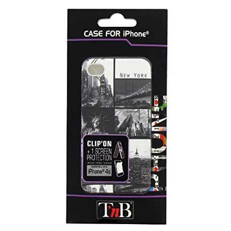 TnB IPH48SNY ClipOn New York - Carcasa para iPhone 4S ...