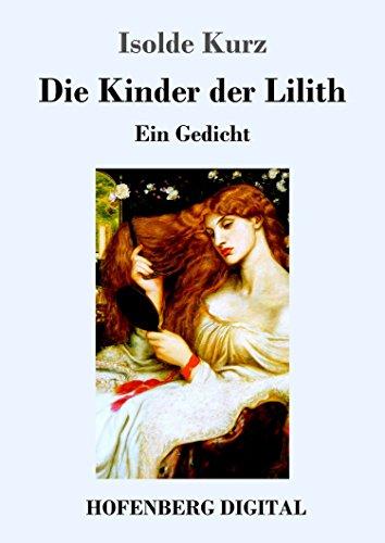Amazoncom Die Kinder Der Lilith Ein Gedicht German