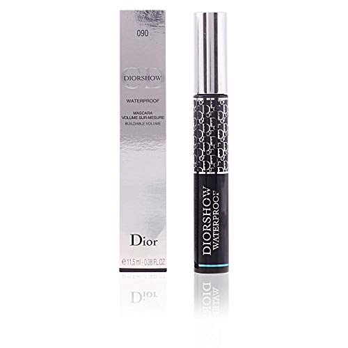 - Christian Dior Diorshow Waterproof Mascara, No. 090 Black, 0.38 Ounce