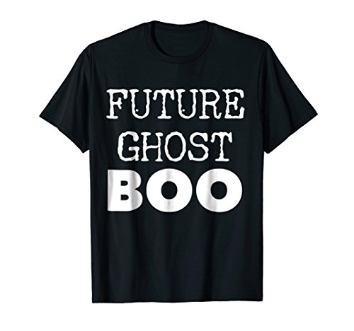 Cute Future Ghosts Boo T-Shirt | Last Minute Costume -