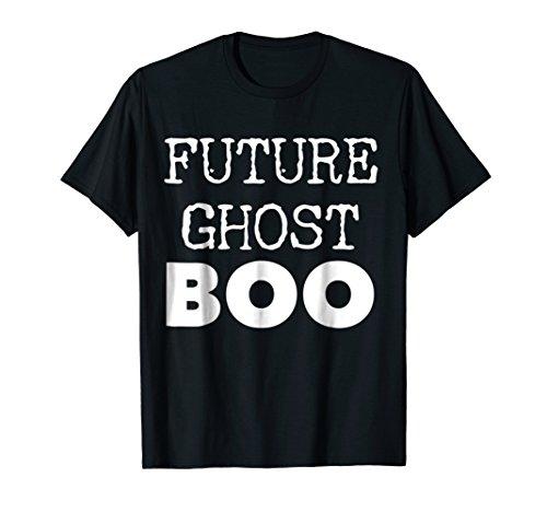 Cute Future Ghosts Boo T-Shirt | Last Minute Costume Tee