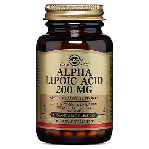 Solgar - Alpha Lipoic Acid 200 mg, 50 Vegetable Capsules