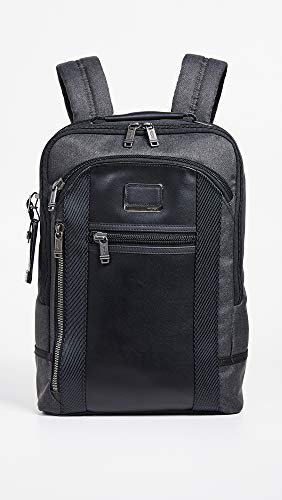 Tumi Men s Alpha Bravo Davis Backpack, Graphite, Grey, One Size