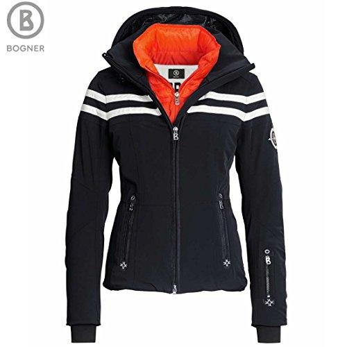 Bogner Women's Down Demi-T Ski Jacket, Black, Size 10