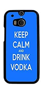 Vodka Hard Case for HTC ONE M8 ( Sugar Skull )
