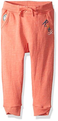 Roxy Little Girls' Fashion Fleece Sweatpants, Porcelain Rose, 6 (Spot Roxy)