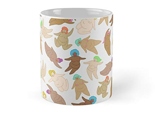 Naked Fat Ladies 11oz Mug - Made from Ceramic - Great gift for family and friends -