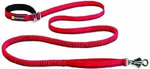 Ruffwear - Roamer Hand-Held or Waist-Worn Extending Dog Leash, Red Currant, Large